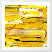 Yellow Art Print