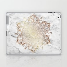 Mandala - Marble gold Laptop & iPad Skin