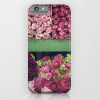 Flower Market Colorblock iPhone 6 Slim Case