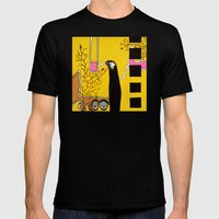 SIPPING the SWEET NECTAR of LIFE Mens Fitted Tee Black SMALL