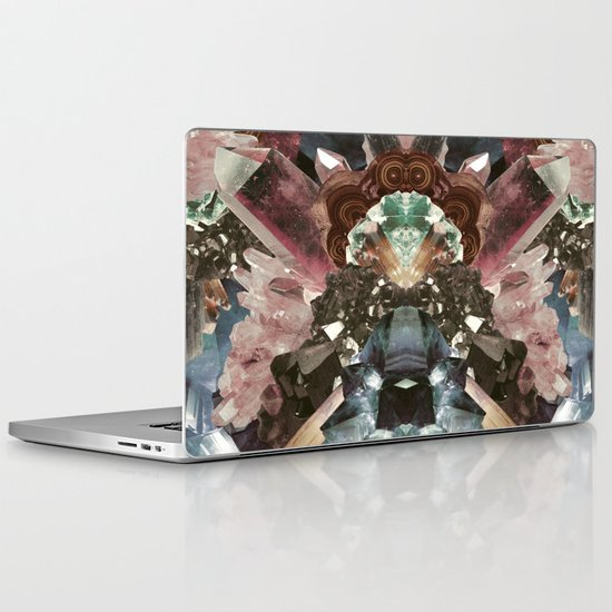Crystal Collage Laptop & iPad Skin