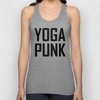 yoga punk Unisex Tank Top
