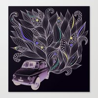 Toot Canvas Print