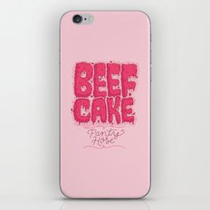 Beef Cake iPhone & iPod Skin