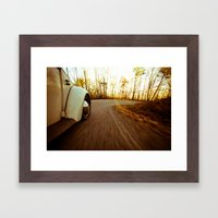 Mountain Roads Framed Art Print