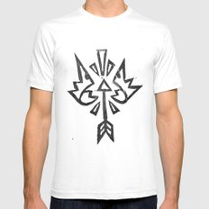 No King Mens Fitted Tee White SMALL