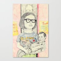 Ghost World Canvas Print