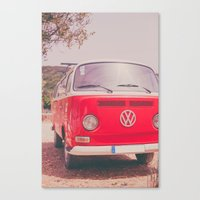 Red Ride Canvas Print