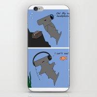 Hammerhead's Headphones iPhone & iPod Skin