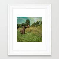 Stop And Smell Framed Art Print