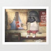 Dart Human Fener Art Print