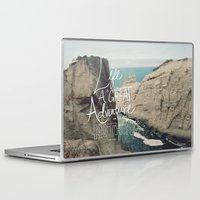 adventure Laptop & iPad Skins featuring Great Adventure by Leah Flores