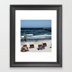 At The Baltic Sea V Framed Art Print