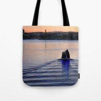 Boat Man Tote Bag