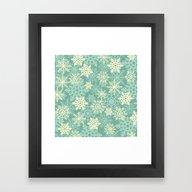 Snowflakes #1 Framed Art Print