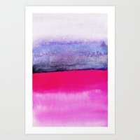Abstract Landscape 92 Art Print
