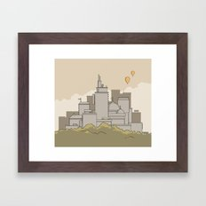 Moore's Big City Framed Art Print