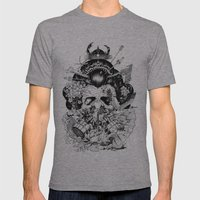 Legendary Mens Fitted Tee Athletic Grey SMALL