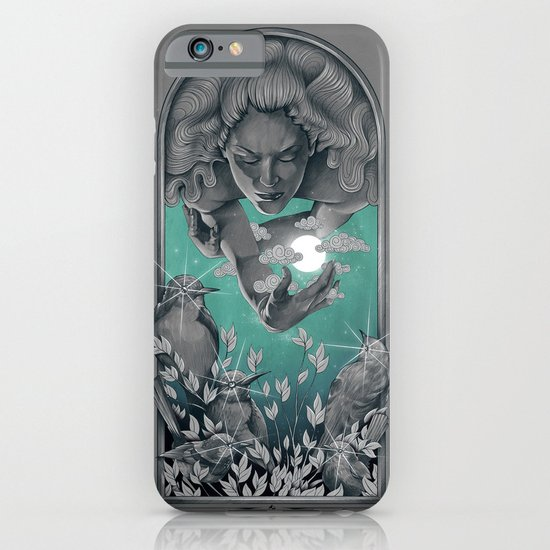 The Bird Keeper iPhone & iPod Case