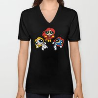 Sisterhood of Evil Puffs Unisex V-Neck