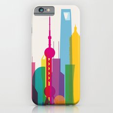 Shapes of Shanghai. Accurate to scale iPhone 6s Slim Case