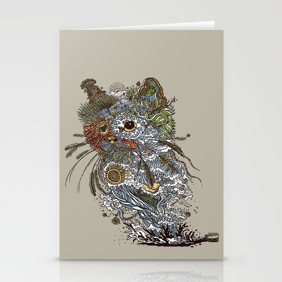 Colors to Nature. Stationery Card