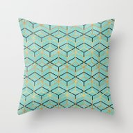 Pretty Geometry 2 Throw Pillow