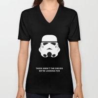 Star Wars Minimalism - Stormtrooper Unisex V-Neck