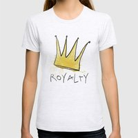 Royalty Womens Fitted Tee Ash Grey SMALL