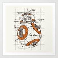BB-8 Art Print