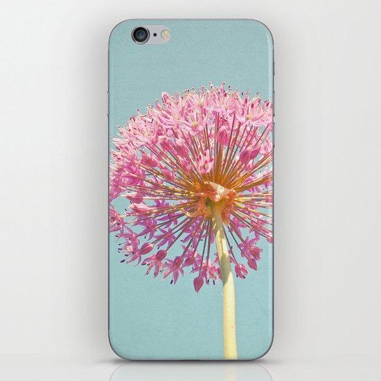 Pink Allium iPhone & iPod Skin