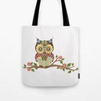 OWL -  kids wall art - owl theme nursery - woodland Tote Bag