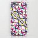 Neon Rainbow Watercolor Trendy Fashion Geometric iPhone & iPod Case