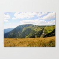 Sněžka Mountain Canvas Print