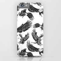 iPhone & iPod Case featuring Eagles Pattern by Katya Zorin