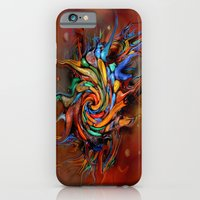 Abstract Wash iPhone 6 Slim Case
