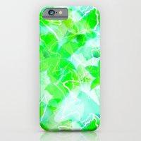 Tropical green iPhone 6 Slim Case