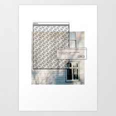 Pixel Screencapture - How Much Is The Doggie In The Window? Art Print