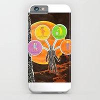 iPhone & iPod Case featuring The Universal Four Habits by Cryptohelix