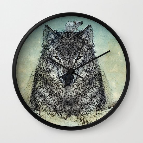 force and tiny Wall Clock