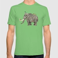 TUSK Mens Fitted Tee Grass SMALL