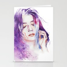 Dreamlike silence Stationery Cards