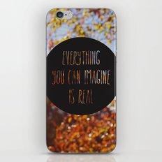 imagine the autumn bokeh iPhone & iPod Skin