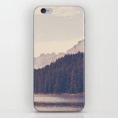 Morning Mountain Lake iPhone & iPod Skin