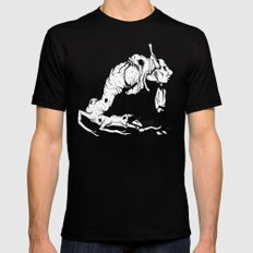 A Carnivore's Dream SMALL Black Mens Fitted Tee
