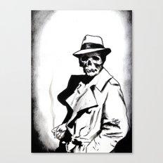 Skeleton Expatriate Canvas Print