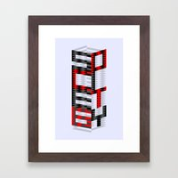 S6 Tee Framed Art Print