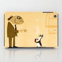 Fishface And The Blue Pe… iPad Case