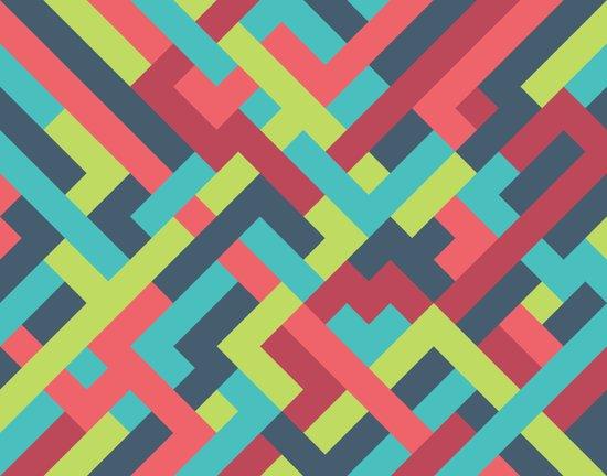 Intertwined 001 Art Print