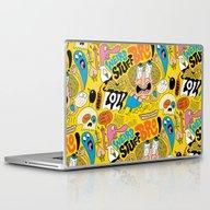 Laptop & iPad Skin featuring Weird Stuff Bro by Chris Piascik